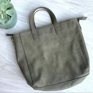 Universal Thread olive green small tote bag